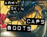 209 Army-Boots, -Caps -