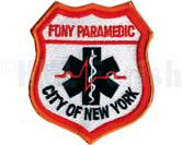 FDNY Paramedic Patch